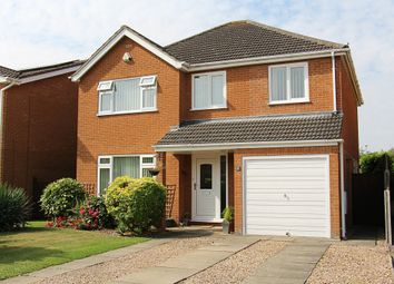 Thumbnail 4 bedroom detached house for sale in Torfrida Close, Crowland, Peterborough