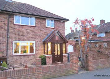 Thumbnail 3 bed end terrace house for sale in Bedfont Close, Feltham