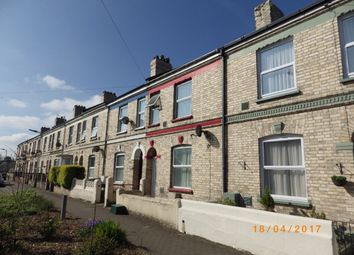 Thumbnail 4 bedroom terraced house to rent in Fort Terrace, Barnstaple