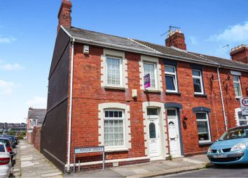 Thumbnail 2 bedroom end terrace house for sale in Phyllis Street, Barry