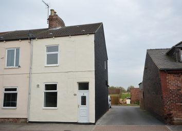 Thumbnail 3 bed end terrace house for sale in Crossley Street, New Sharlston, Wakefield