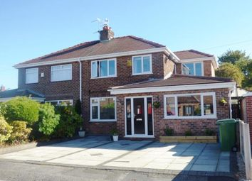 Thumbnail 5 bed semi-detached house for sale in Kenyon Avenue, Penketh, Warrington, Cheshire