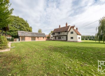 Thumbnail 4 bed detached house for sale in Wick Road, Stoke By Nayland, Essex