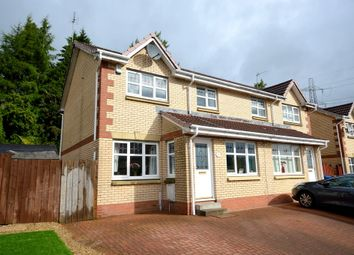 Thumbnail 4 bed semi-detached house for sale in Bute Drive, Old Kilpatrick, Glasgow
