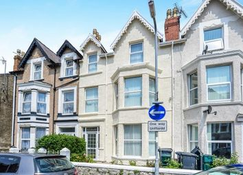 Thumbnail 4 bed terraced house for sale in Clifton Road, Llandudno, Conwy