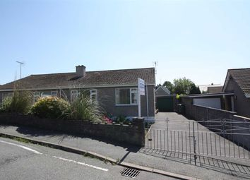 Thumbnail 3 bed semi-detached bungalow for sale in Cae Cnyciog, Llanfairpwllgwyngyll