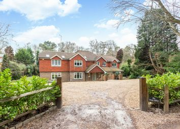Thumbnail 5 bedroom detached house to rent in Lodge Hill Road, Lower Bourne, Farnham