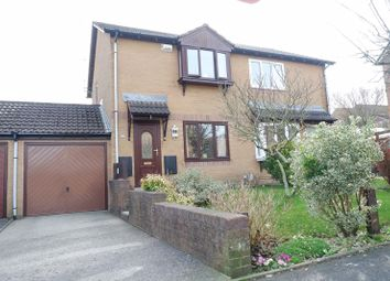 Thumbnail 2 bed semi-detached house for sale in Ffordd Trecastell, Llanharry, Pontyclun