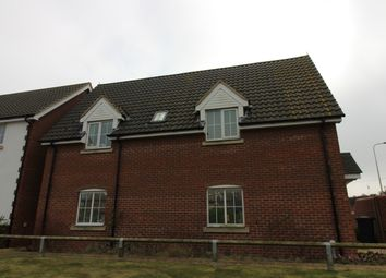 Thumbnail 2 bed flat to rent in Chapel Road, Carlton Colville, Lowestoft