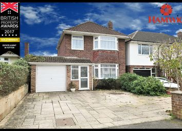 Thumbnail 3 bed detached house for sale in Bartley Avenue, Southampton