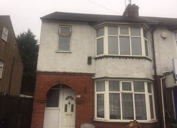 Thumbnail 3 bedroom semi-detached house to rent in Dunstable Road, Luton