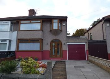 Thumbnail 3 bed property to rent in Yew Tree Lane, Liverpool