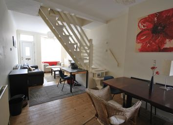 Thumbnail 3 bed terraced house to rent in Danvers Road, Leicester