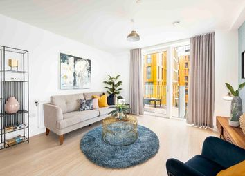 Thumbnail 3 bed flat for sale in Christchurch Way, London