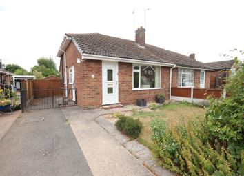 Thumbnail 2 bedroom semi-detached bungalow for sale in Onslow Road, Mickleover, Derby