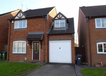 Thumbnail 3 bed detached house to rent in Justice Close, Whitnash, Leamington Spa