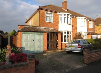 Thumbnail 3 bed semi-detached house for sale in Mere Road, Wigston