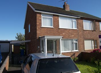 Thumbnail 3 bed semi-detached house for sale in Blenheim Drive, Warton, Preston