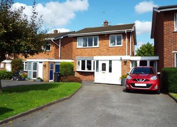 Thumbnail 3 bed detached house for sale in Leigh Close, Walsall, West Midlands