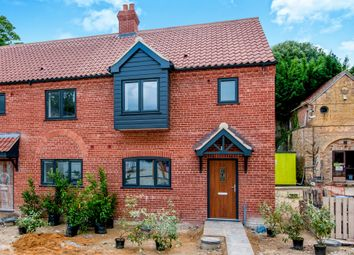 Thumbnail 3 bed end terrace house for sale in Whittington Hill, Whittington, King's Lynn