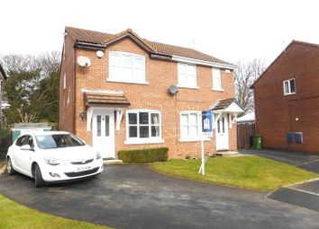Thumbnail 2 bed semi-detached house for sale in Larkin Close, New Ferry