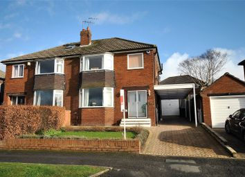 Thumbnail 3 bed semi-detached house for sale in Moseley Wood Avenue, Cookridge, Leeds, West Yorkshire