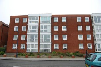 Thumbnail 2 bed flat to rent in Wolsey Court, Stanley Road, Felixstowe, Suffolk