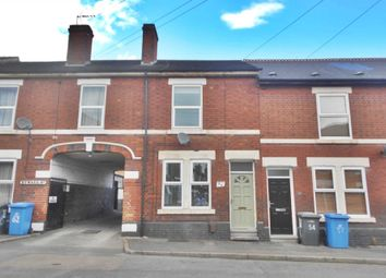Thumbnail 2 bed terraced house for sale in Etwall Street, Derby