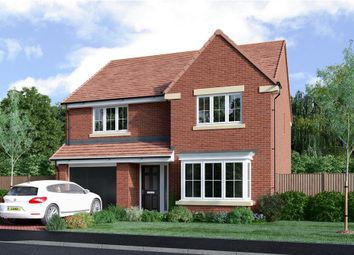 "Thumbnail 4 bed detached house for sale in ""The Chadwick Alternative"" at Drove Road, Throckley, Newcastle Upon Tyne"