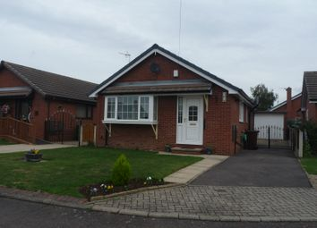Thumbnail 2 bed bungalow to rent in Nunns Close, Featherstone, Pontefract