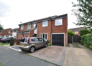 Thumbnail 4 bed semi-detached house for sale in Lords Wood, Welwyn Garden City, Hertfordshire