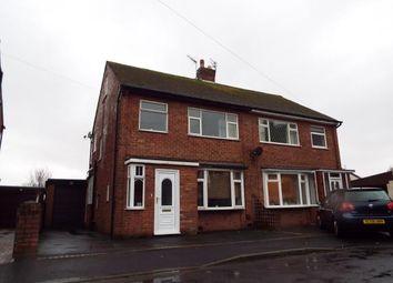 Thumbnail 3 bed semi-detached house for sale in Raybourne Avenue, Poulton-Le-Fylde, Lancashire