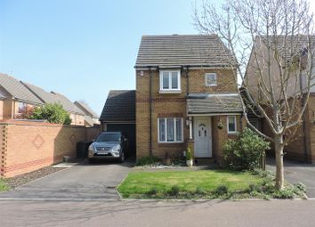 Thumbnail 3 bed link-detached house for sale in Compass Close, Gosport