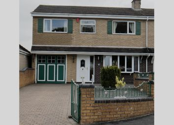 Thumbnail 4 bed semi-detached house for sale in Rattigan Drive, Stoke-On-Trent