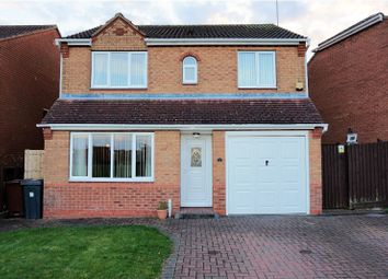 Thumbnail 4 bed detached house for sale in Inham Close, Corby