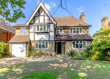 Thumbnail 3 bed detached house for sale in Blundel Lane, Stoke D'abernon, Cobham