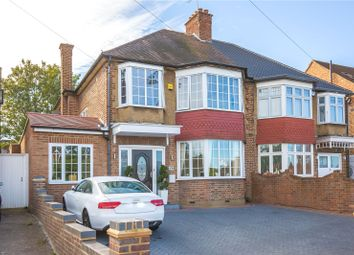 Thumbnail 5 bed semi-detached house for sale in Winchmore Hill Road, Winchmore Hill, London