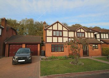 Thumbnail 4 bed detached house for sale in Abbot Meadow, Penwortham, Preston