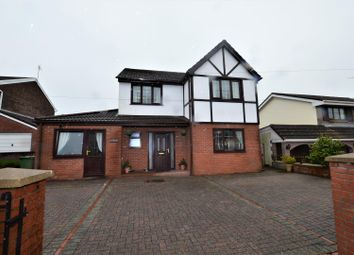 Thumbnail Detached house for sale in Brynna Road, Pencoed, Bridgend