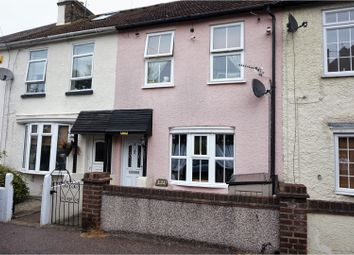 Thumbnail 2 bed terraced house for sale in Sun Lane, Gravesend