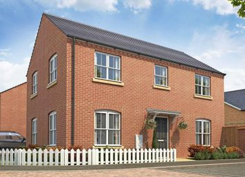 """Thumbnail 4 bed detached house for sale in """"Kentdale - Plot 16"""" at Barkby Road, Syston, Leicester"""