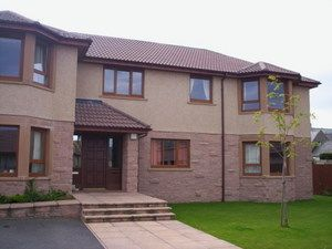 Thumbnail 3 bed flat to rent in Weddershill Court, Hopeman, Moray, Elgin