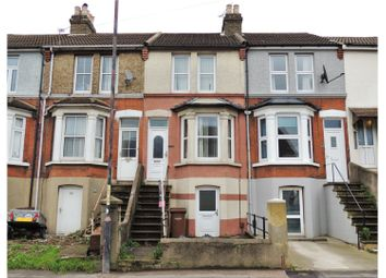 Thumbnail 3 bed terraced house for sale in Luton Road, Chatham