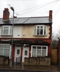 Thumbnail 3 bed end terrace house to rent in Victoria Road, Handsworth