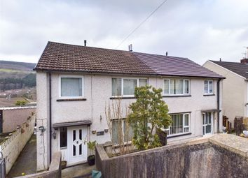 Thumbnail 3 bed semi-detached house for sale in Brynifor, Mountain Ash, Rhondda Cynon Taff