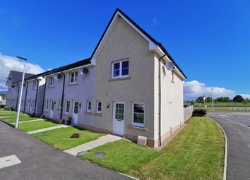 Thumbnail 2 bed end terrace house for sale in Thistle Road, Conon Bridge, Dingwall