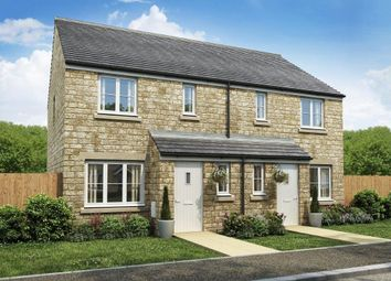 "Thumbnail 3 bed semi-detached house for sale in ""The Hanbury"" at Townsend Road, Witney"