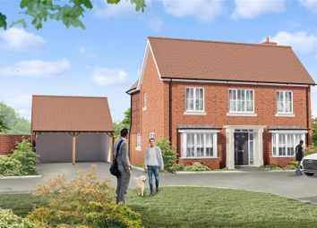 Thumbnail 4 bed detached house for sale in Peters Village, Hall Road, Evabourne, Wouldham, Rochester, Kent