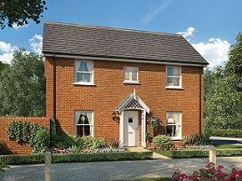 Thumbnail 4 bed detached house for sale in The Dunstan At St James Park, Off Cam Drive, Ely