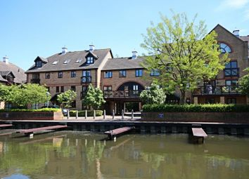 Thumbnail 2 bedroom flat to rent in Lawrence Moorings, Sheering Mill Lane, Sawbridgeworth, Herts